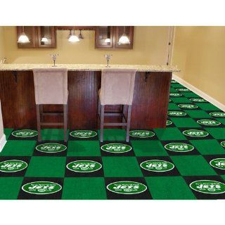 New York Jets NFL Team Logo Carpet Tiles Sports
