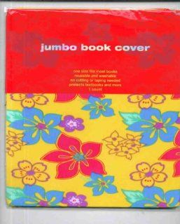 Stretchable, Washable, Fabric Book Cover Yellow Hawaiian