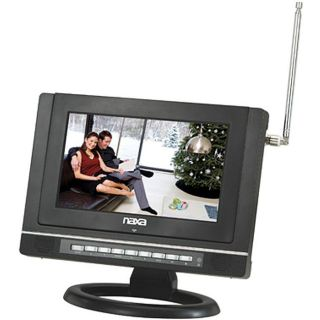 Naxa 9 inch Widescreen AC/DC Digital LCD TV/ DVD Player with USB/SD