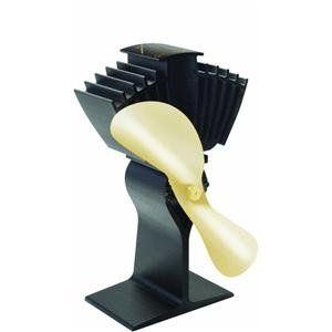 Caframo Limited 812AM BBX Heat Powered Wood Stove Fan