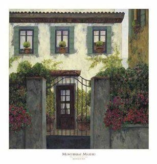 Three Windows Finest LAMINATED Print Mantserrat Masdeu