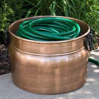 Amphora Copper Hose Pot   Without Lid   Antique Copper