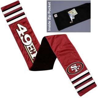 Little Earth San Francisco 49ers Jersey Scarf