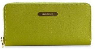 Michael Kors Saffiano Continental Long Wallet Lime