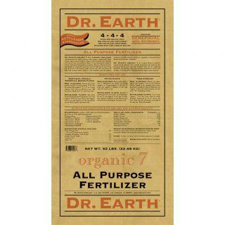Dr Earth All Purpose Fertilizer (50 pound)