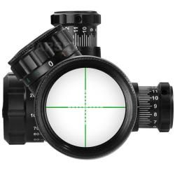 Black Barska 6 24x50 IR 2nd Generation Waterproof Sniper Scope