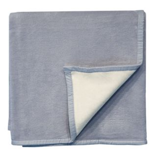 Bocasa Smoke Woven Organic Cotton Throw Blanket
