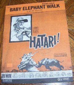 Baby Elephant Walk   Piano Solo: Henry Mancini: Books