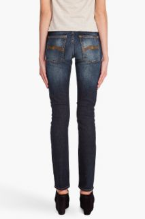 Nudie Jeans Tube Kelly Midnight Blue Jeans for women