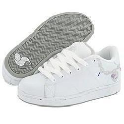 DVS Shoe Company Revival Graphics W White Leather Charm