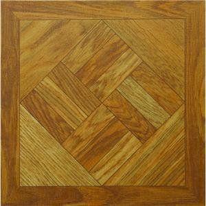 Vinyl Floor Tile, 12 WOOD PARQUET TILE