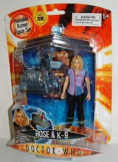 Doctor Who action figure set ROSE TYLER & K 9 Toys