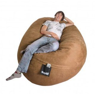 6 Earth Microfiber SLACKER sack Foam Bean Bag Love Seat