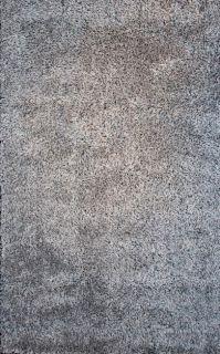 Hand tufted Jensen Zebra Grey Shag Rug (5 x 79)
