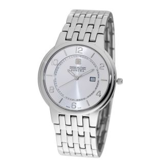 Swiss Military Rendezvous Mens Silver Dial Watch