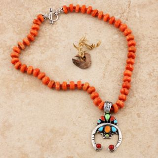Sponge Coral with Naja Pendant (Native American)