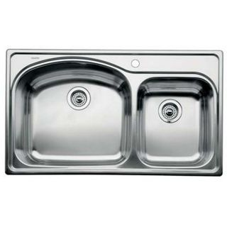 Blanco Stainless Steel Drop in 1 3/4 Bowl Kitchen Sink