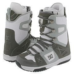 DC Phase 06 Light Grey/Gunmetal Boots