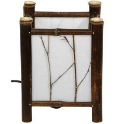 Dark Watashi Japanese Style Table Lamp (China)