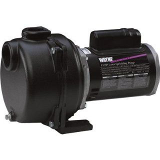 Wayne WLS150 1 1/2 Horsepower Cast Iron Lawn Sprinkling Pump