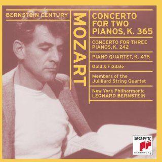 Pianos / Concerto for Three Pianos / Piano Quartet in G minor, K. 242