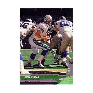 2000 Stadium Club #138 Jon Kitna Collectibles