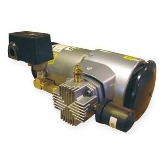 Gast 3LEM 246S M345EX Piston Air Compressor, 1/3 HP, 2 CFM