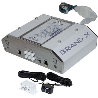 BrandX 400 watt 4 channel Marine Hybrid Full Range Amplifier