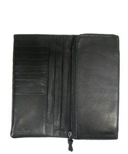 Giorgio Armani Black Leather Wallet