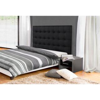 Tête de lit MIDNIGHT 140 cm noire   Achat / Vente TETE DE LIT
