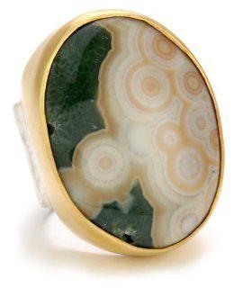 Heather Benjamin Ocean Jasper Mix Ring, Size 7 Jewelry