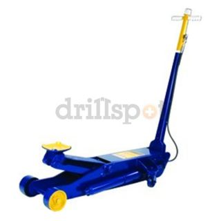 Hein Werner HW93662 10 WLL Blue/Yellow Air/Manual Service Jack Be