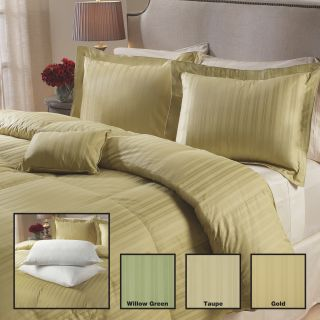 Luxurious 400 Thread Count White Down Comforter 6 piece Set