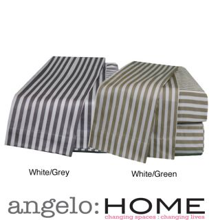 angeloHOME Hyde Park Cotton Sateen 400 Thread Count Sheet Sets