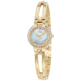 Citizen Womens Eco Drive Goldtone Bangle Watch