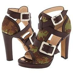 Jean Paul Gaultier GA1609BC0N G14 Military/Rust Sandals