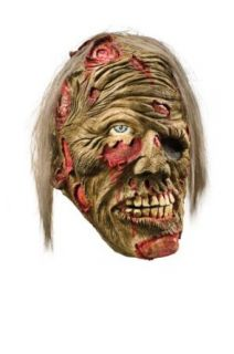Foam Latex Mask, Decomposed Zombie Clothing