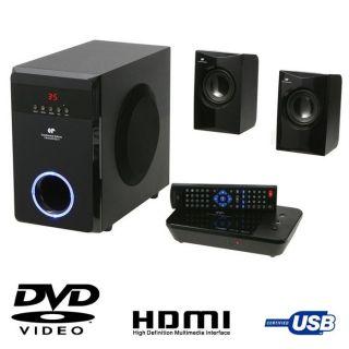 Ensemble Home Cinéma DVD 2.1   Puissance maximum  400 W RMS   Prise