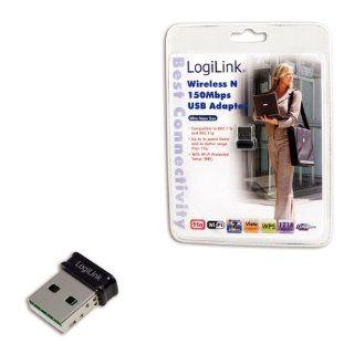 LogiLink Nano Wireless LAN USB Adapter Computer & Zubehör