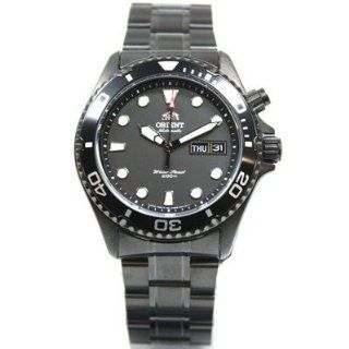 ORIENT Ray Scuba Diver Deep BLACK Herrenuhr Gun color FEM65007B9