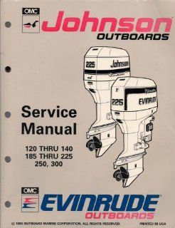 OMC Johnson & Evinrude Ouboards Service Manual, 120 hru 140, 185