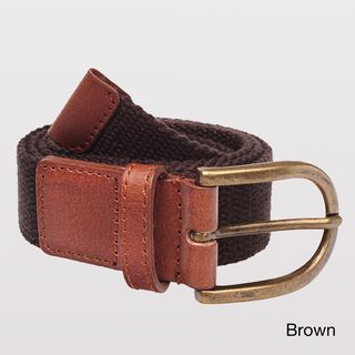 American Apparel Womens Leather Accented Belt