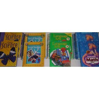 Grade 3 Curriculum 4 Subject Homeschool Kit Language Arts Math Science