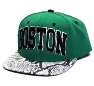 City Hunter Cf1531 New Snake Skin Snapback  Boston   One