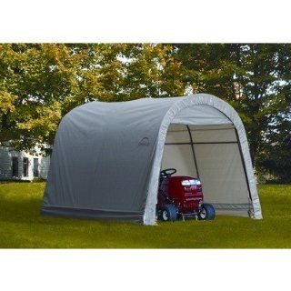 ShelterLogic Round Style Storage Shed, 10 x10 x 8 Feet