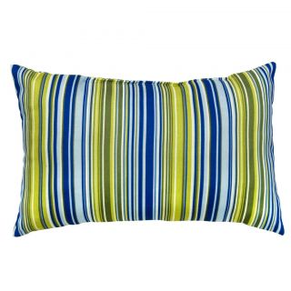 Poolside Stripe Rectangle Outdoor Accent Pillows (Set of 2
