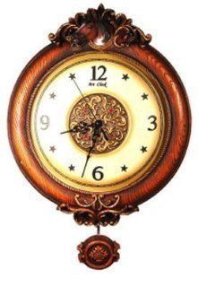 Western HORSE head Pendulum WALL CLOCK home DECOR: Kitchen