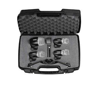 Shure PGDMK4 XLR Drum Microphone Kit, 4 piece: Musical