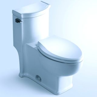HUDSON Contemporary European Toilet with Single Flush and Soft