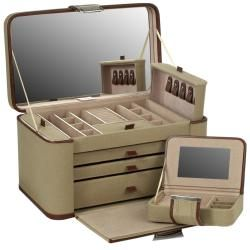 British Safari Extra Large Jewelry Case